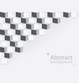 abstract background square 3d modern paper vector image vector image