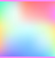 abstract gradient background with pastel color vector image vector image