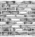 brickwork seamless pattern vector image