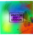 bright watercolor background vector image