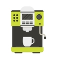 Coffee Machine with a Cup vector image vector image