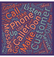 How to Get The Best Out Of Your Phone text vector image vector image