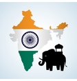 India design Culture icon Isolated vector image
