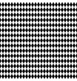 monochrome repeatable pattern with rhombus vector image