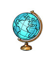 school globe planet earth vector image