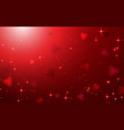abstract happy valentines day background vector image vector image