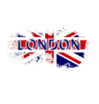 British flag t shirt vector image vector image