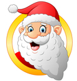 classic santa cartoon vector image
