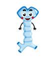 human oesophagus cute cartoon character vector image vector image