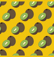kiwi fruit seamless pattern vector image vector image