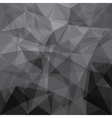 Low Poly background design vector image