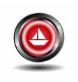 Sailing boat icon vector image vector image