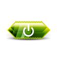 start power button ui icon design on off symbol vector image