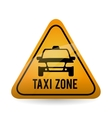 Taxi design cab concept transportation icon vector image vector image
