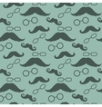 Glasses And Mustaches Pattern vector image