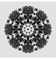 Abstract circular mandala vector image vector image