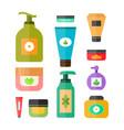 deodorant cream tooth paste soap vector image vector image