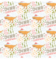 dino pattern seamless pattern with vector image vector image