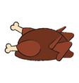 whole chicken icon image vector image vector image