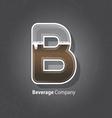 Beverage company logo vector image