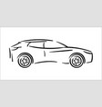 concept of car icon vector image vector image