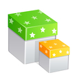 icon boxes vector image vector image