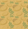 potatoes seamless pattern praties endless vector image