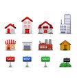 real estates property icons this is a group of vector image