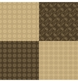 Seamless pattern set vector image vector image