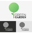 Tree Eco logo concept vector image
