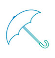 umbrella protective isolated icon vector image
