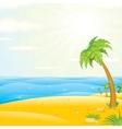 Sunny Tropical Island Beach