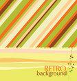 retro design background vector image