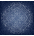 Background with round lace ornate vector image