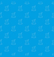 cold tea pattern seamless blue vector image vector image