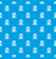 communication phone pattern seamless blue vector image