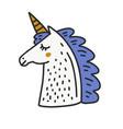 cute unicorn vector image