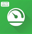 dashboard icon business concept level meter speed vector image vector image