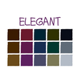 Elegant Color Tone without Code vector image vector image
