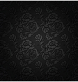 floral filigree background vector image vector image