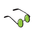 glasses sunglasses vector image