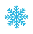 Snowflake icon Winter design graphic