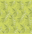 abstract tropical leaves seamless pattern for vector image