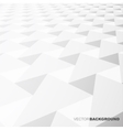 Abstract background- white shapes vector image vector image