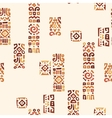 background with elements african ornament vector image vector image