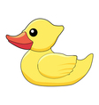 bath duck vector image vector image