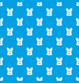 brassiere shop pattern seamless blue vector image vector image