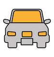 car vehicle sedan icon vector image vector image