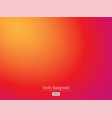 colorful warm abstract background in red-orange vector image