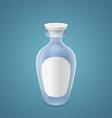 Empty bottle vector image vector image